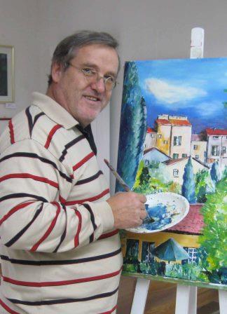 Künstler Ruedi Keller