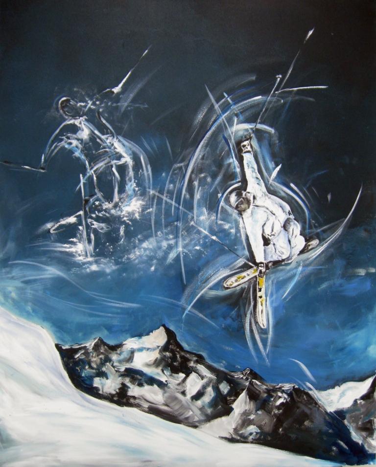 Sportbilder Ski Freestyle Ruedi Keller