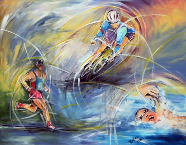 Sportbilder Triathlon Ruedi Keller
