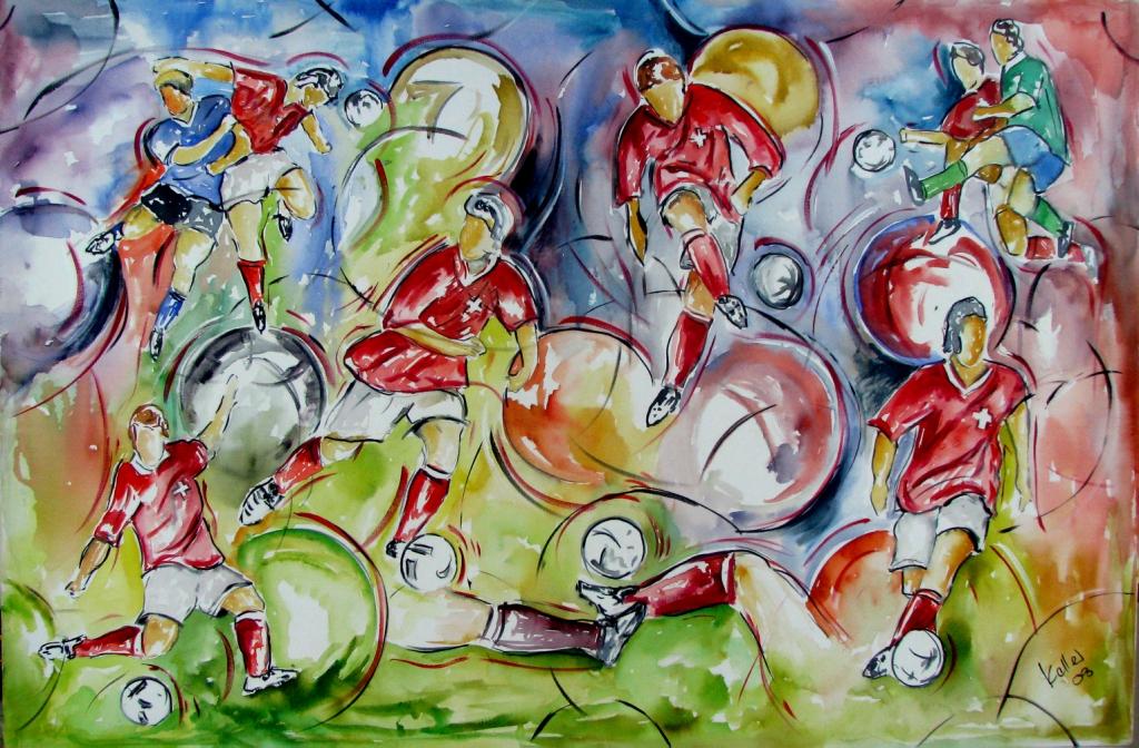 Sportbilder Fussball Ruedi Keller