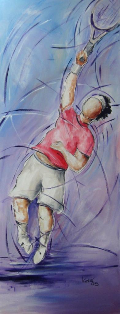 Sportbilder Tennis Ruedi Keller