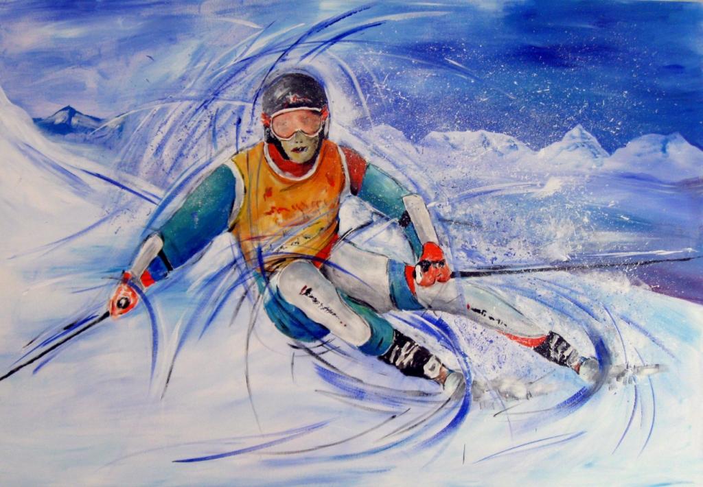 Sportbilder Ski Alpin Ruedi Keller