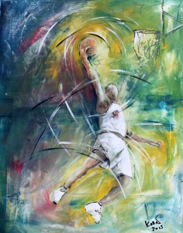 Sportbilder Basketball Ruedi Keller