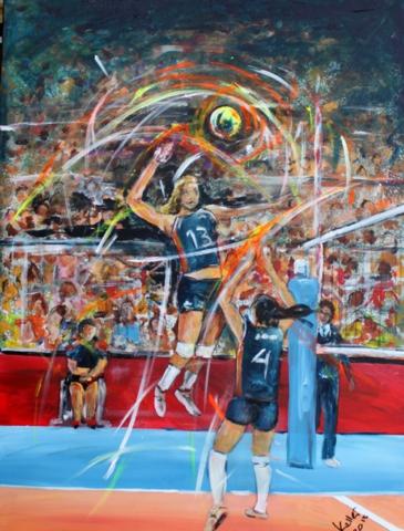 Sportbilder Volleyball Ruedi Keller