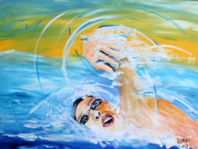 Sportbilder Schwimmen Ruedi Keller