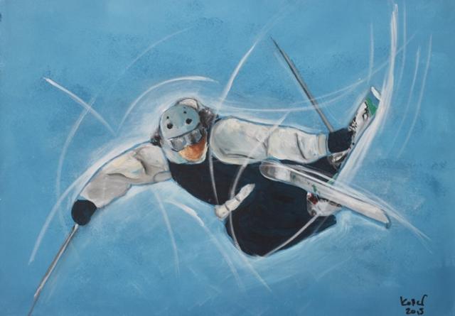 Sportbilder Ski-Fressstyle Ruedi Keller