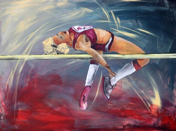 Sportbilder Hochsprung Ruedi Keller
