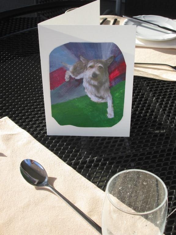 Impressionen Hundemalkurs - Ascona