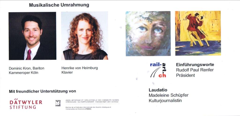 Nationale Ausstellung rail-art.ch Flüelen UR