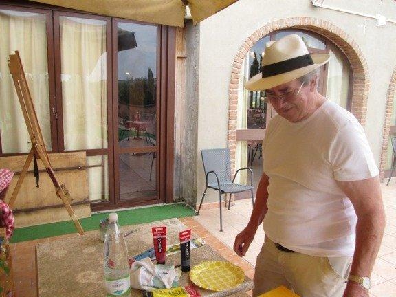 Malferien Toskana, Hotel Belvedere, Juni 2017