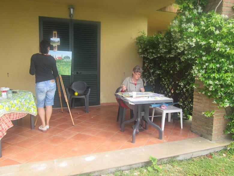 Malferien Toskana, Villa Elena Juni 2018