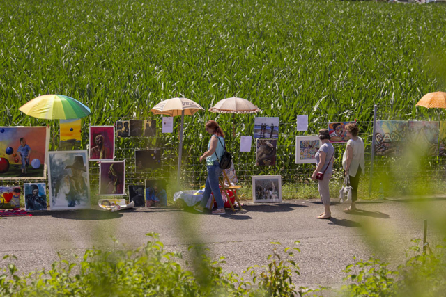 Bildermarkt am Zaun, 30. Juni 2018