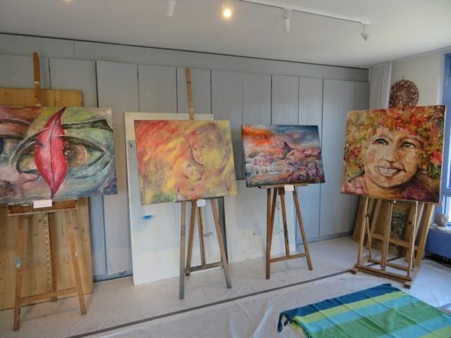 Impressionen Bilderausstellung Wertvoll