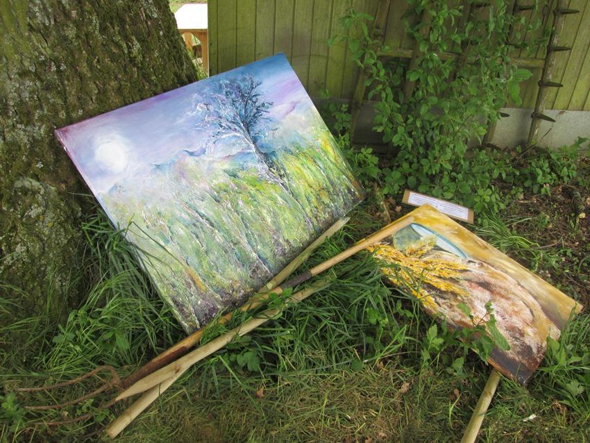 Ausstellung in der freien Natur