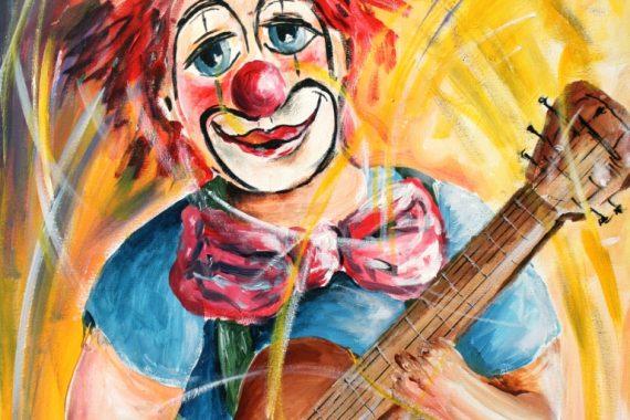 Clowns Kunst Ruedi Keller